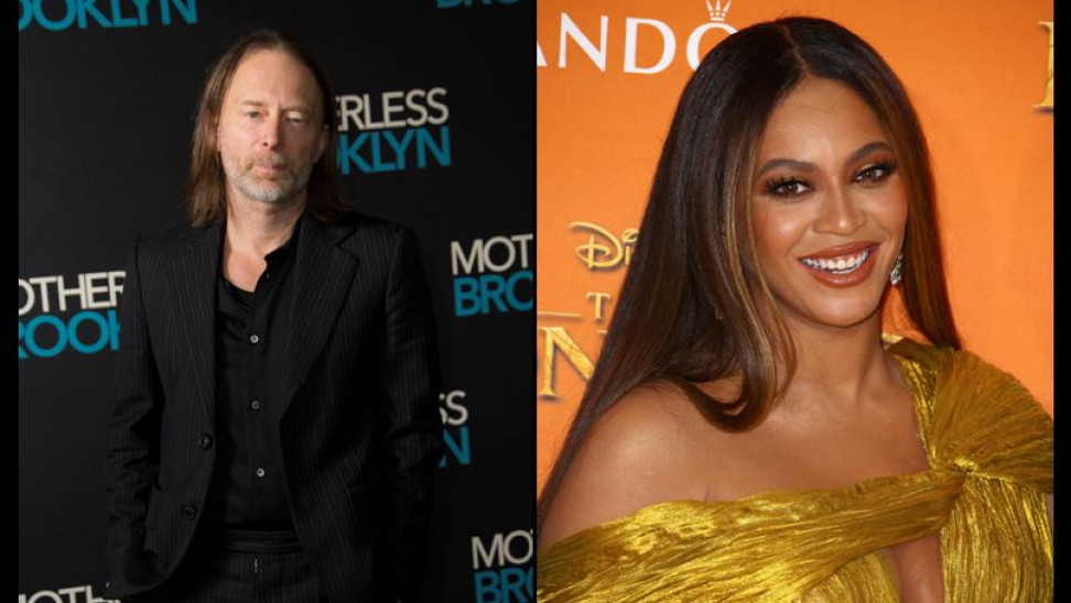 Thom Yorke και Beyoncé υποψήφιοι για Όσκαρ Καλύτερου Πρωτότυπου Τραγουδιού
