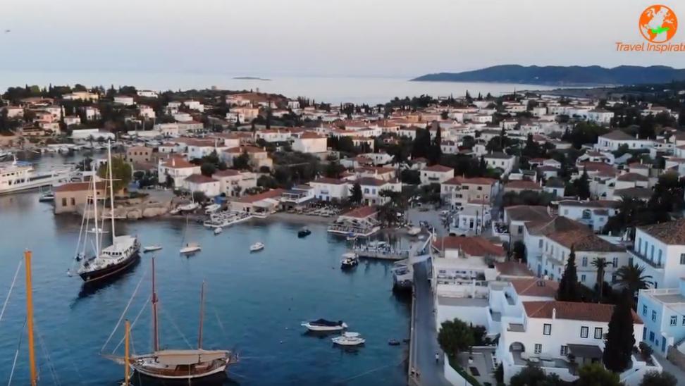 Σπέτσες: Το μεγαλείο ενός ιστορικού νησιού από ψηλά
