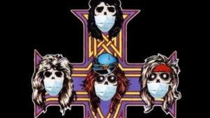 Οι Guns N' Roses με μάσκες για τον κορωνοϊό