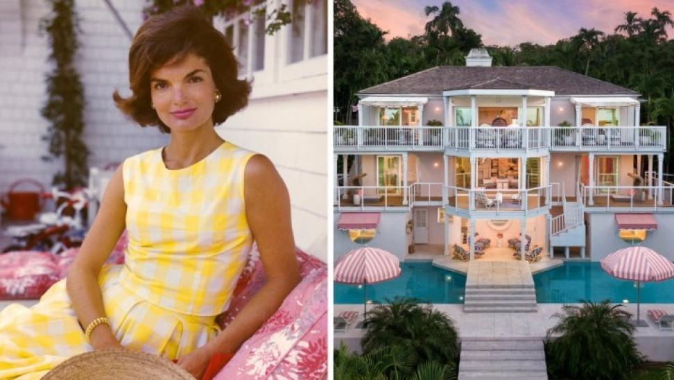 Πωλείται το παλάτι που έκανε διακοπές στις Μπαχάμες η Τζάκι Ωνάση