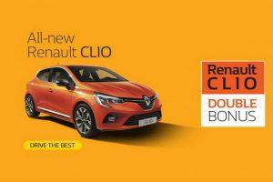 Tο Νέο Renault Clio με double bonus και όφελος έως 1.500€ – Cars