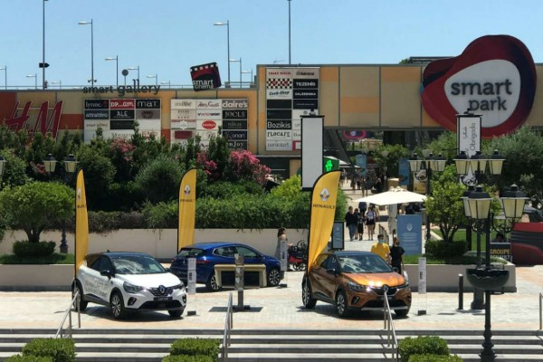 To Groupe Renault στο McArthurGlen - Cars