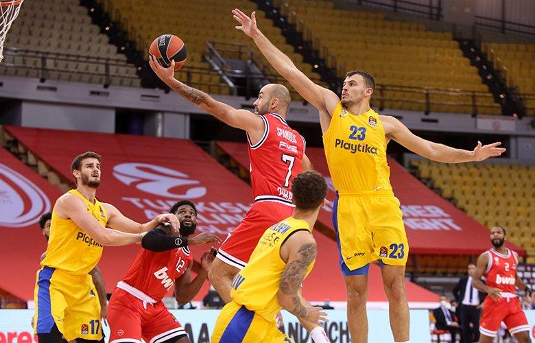 «Χρυσό» τρίποντο στη λήξη έδωσε τη νίκη στον Ολυμπιακό, 85-82 τη Μακάμπι – News.gr