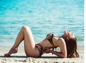 Η αισθησιακή πόζα της Μάγκυς Χαραλαμπίδου με σέξι μαύρα εσώρουχα – News.gr
