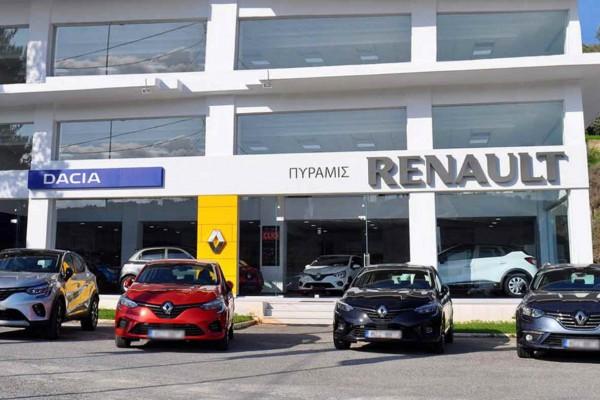ΠΥΡΑΜΙΣ Ε.Π.Ε: Νέα εποχή Renault στο Ηράκλειο Κρήτης - Cars