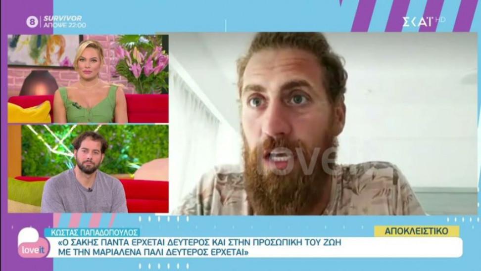 Κώστας Παπαδόπουλος σε love it: Αυτή θα είναι η τελική τριάδα του Survivor (vid)