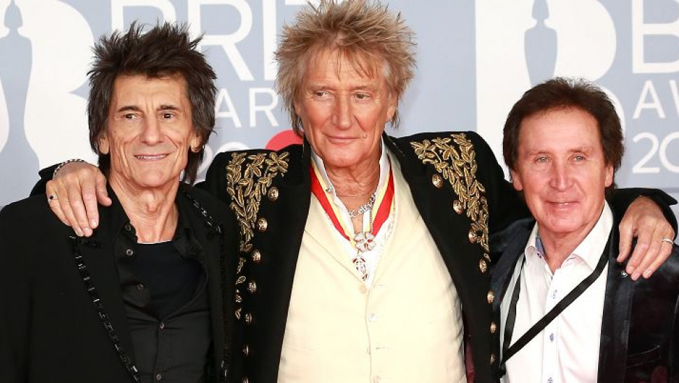 Ξανά μαζί οι Rod Stewart, Ron Wood και Kenney Jones για νέες ηχογραφήσεις των Faces