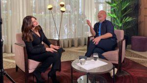 Καλό Μεσημεράκι: O Νίκος Μουτσινάς συναντά την Μόνικα Μπελούτσι