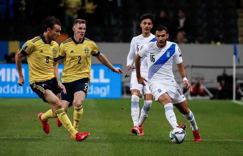 Αμυδρές ελπίδες πρόκρισης η Εθνική μετά την ήττα με 2-0 στη Σουηδία – News.gr